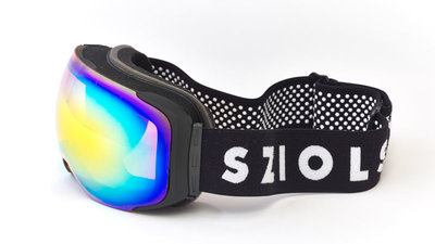 X-Goggle Black | Yellow mirror